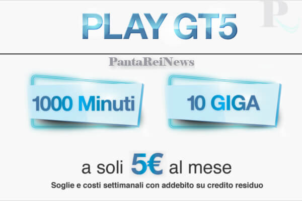 Play GT5: cliente Tim? passa a Tre per 1000 minuti, 10 giga a 5 euro ...