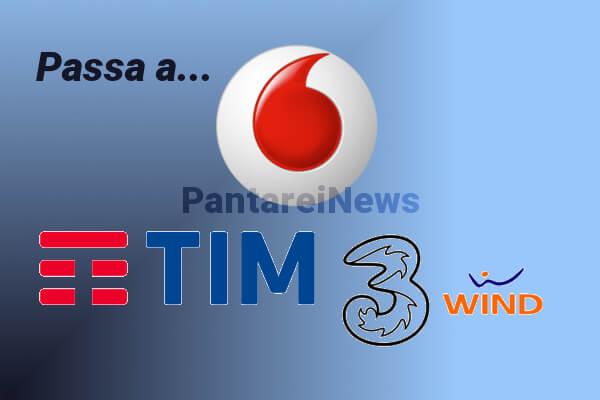 Passa a Vodafone, Tim, Wind, Tre: migliori offerte mobile agosto 2017