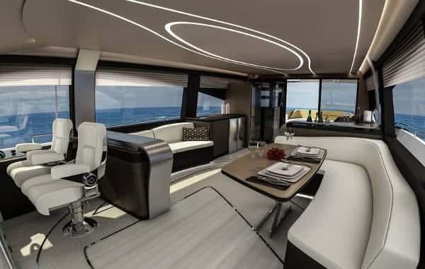 Lexus ly650 yacth di lusso da 65 piedi della casa for Piani di casa di 10000 piedi quadrati