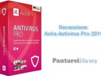 recensione avira antivirus pro 2019