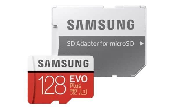microsd samsung 128 GB