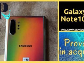 Galaxy Note10 plus certificato ip 68