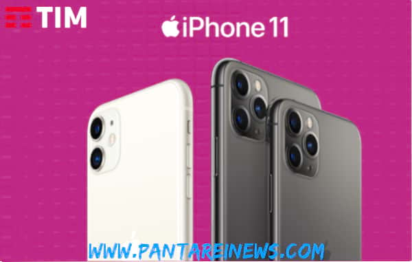 iPhone 11 e iPhone 11 Pro a rate con Tim solo in negozio