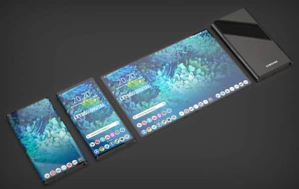 Galaxy Z, si piega due volte lo smartphone che diventa un ta