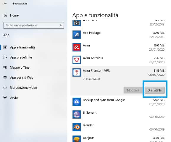 how to delete useless apps from windows 10