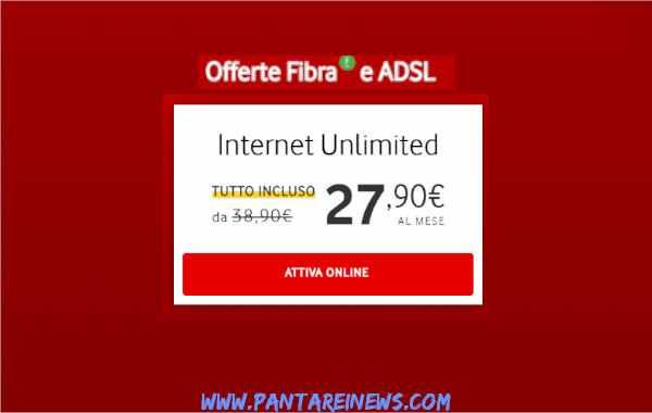 Fibra Vodafone, Internet Unlimited è l'offerta tutto ...