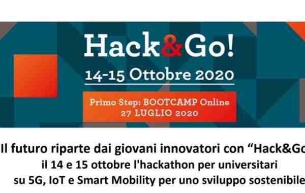 Hack&Go!, hackathon per universitari su 5G, IoT e Smart