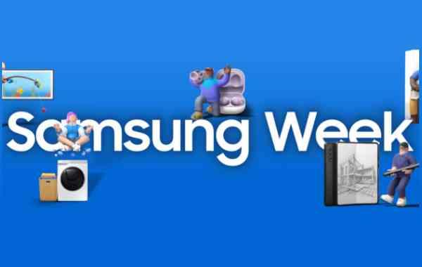 Samsung Week, una settimana di sconti su tutti i prodotti